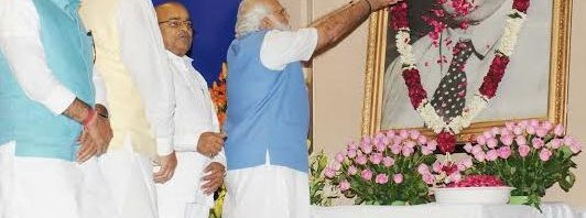 Modi at B.R.-Ambedkar