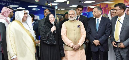 Modi Riyadh visit