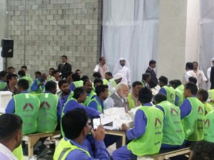 PM Modi-Qatar workers