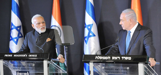 israel-modi-israel-talks